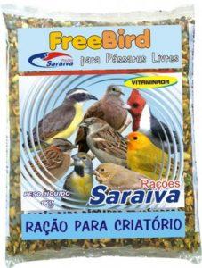 Ração FreeBird Pássaros Livres